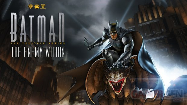 Batman The Enemy Within key art