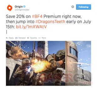 Battlefield 4 erreur date Dragon s Teeth