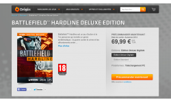 Battlefield Hardline Origin pre?commande