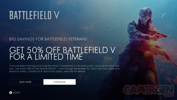 Battlefield V Promo Microsoft Store