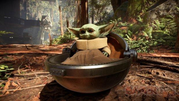 Bébé yoda Star Wars Battlefront 2 mod
