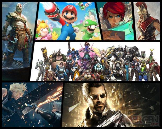 Best of génération ps4 xbox one gamergen