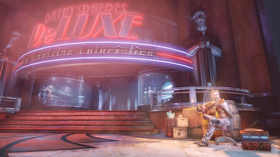 BioShock Infinite Le Tombeau sous-marin e?pisode 2 images screenshots 1