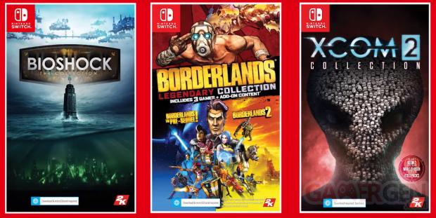 BioShock the Collection Borderlands Legendary XCOM 2