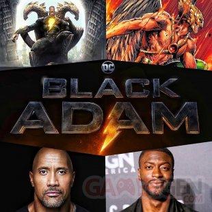 Black Adam Hawkman Aldis Hodge