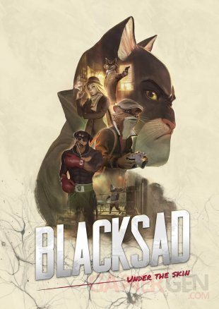 Blacksad Under the skin artwork artbook 25 04 2019
