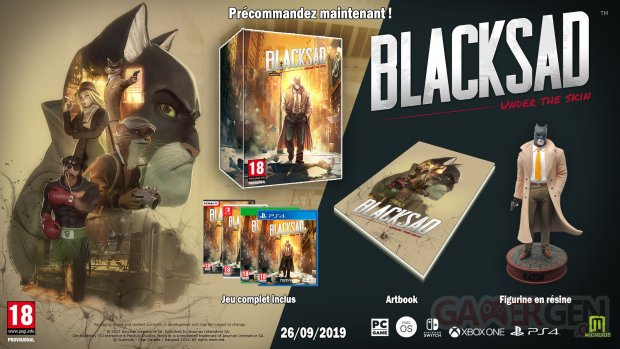 Blacksad Under the skin collector 25 04 2019