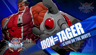 BlazBlue Cross Tag Battle Iron Tager