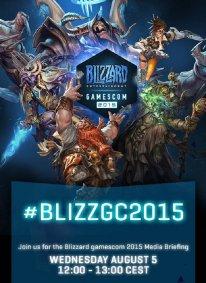 Blizzard Entertainment 27 07 2015 gamescom conference
