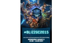 Blizzard Entertainment 27 07 2015 gamescom conference