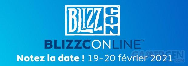 BlizzConline logo head banner