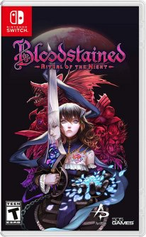 Bloodstained Ritual of the Night 23 02 2019 jaquette 1