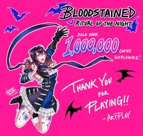 Bloodstained Ritual of the Night million