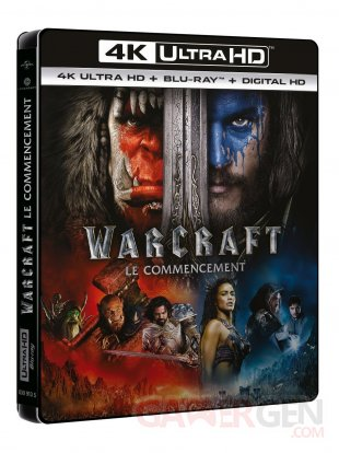 Blu ray UHD Warcraft
