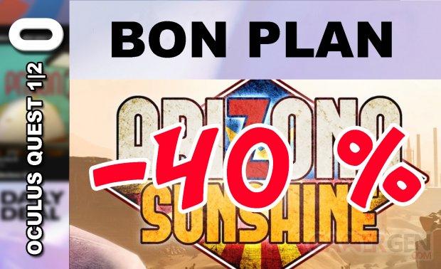 BON PLAN Arizona Sunshine