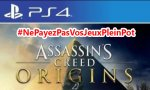 BON PLAN - Assassin's Creed Origins sur PS4 à 47,90 €