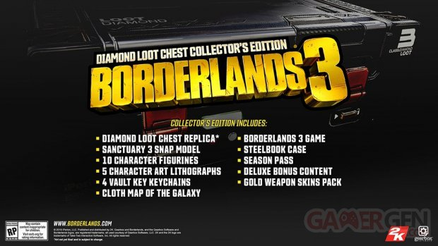 Borderlands 3 Diamond Loot Chest Collector Edition 03 04 2019