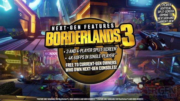 Borderlands 3 next gen features 12 09 2020