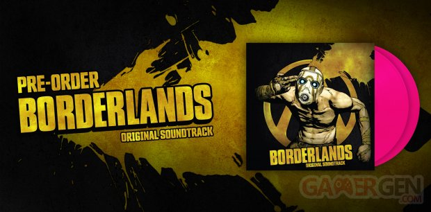 Borderlands vinyles laced records bannière