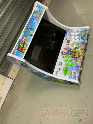 Borne arcade Mario 3D World