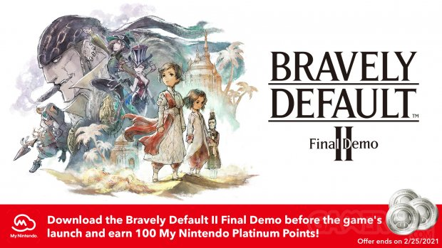 Bravely Default II Final Demo 17 12 2020