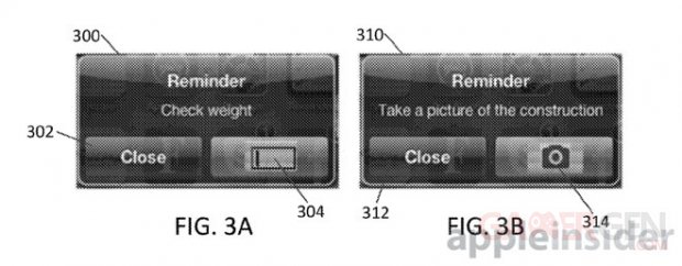 brevet apple action notification 2