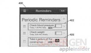 brevet apple action notification