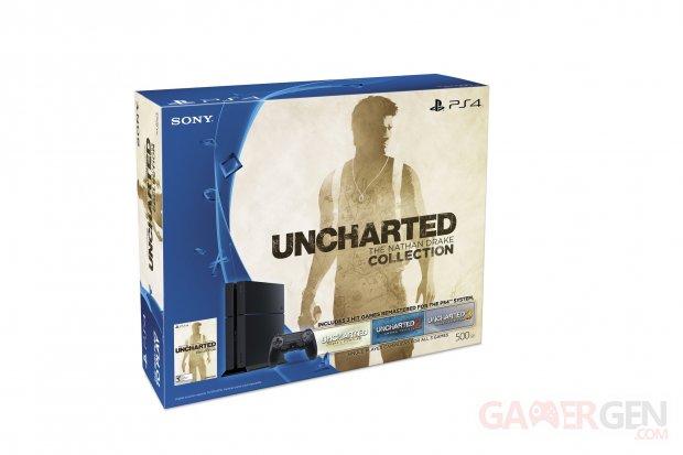 Bundle compilation Uncharted & PS4