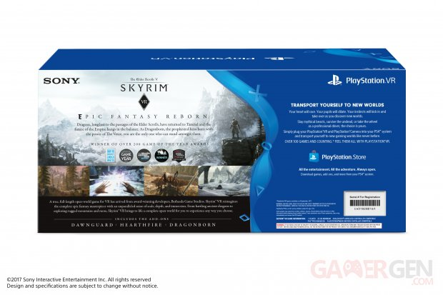 bundle The Elder Scrolls V Skyrim VR PlayStation VR