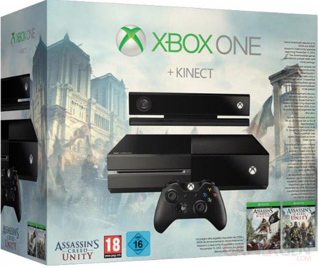 Bundle Xbox One Assassin s creed Unity
