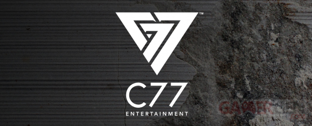 C77 logo head banner Entertainment