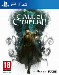 Call of Cthulhu Jaquette PS4