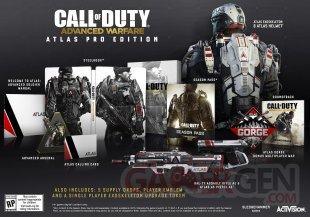 Call of Duty Advanced Warfare 29 07 2014 collector Atlas Pro