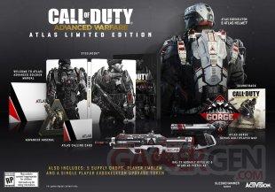 Call of Duty Advanced Warfare 29 07 2014 collector Atlas