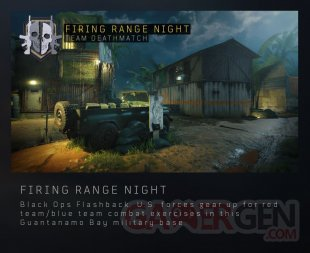 Call of Duty Black Ops 4 Firing Range Night