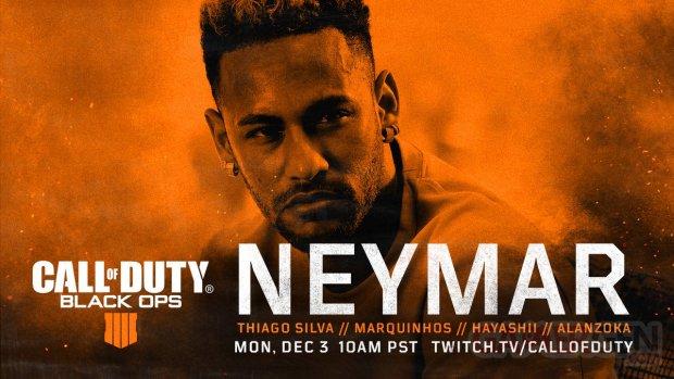 Call of Duty Black Ops 4 Neymar