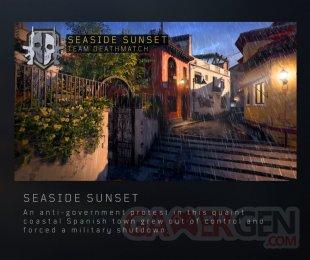 Call of Duty Black Ops 4 Seaside Sunset