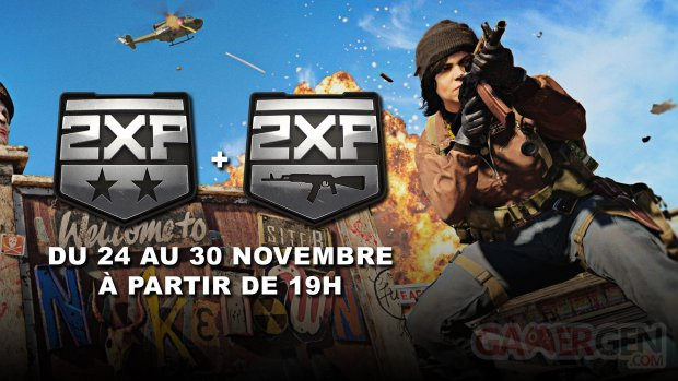 Call of Duty Black Ops Cold War 24 11 2020 Double XP