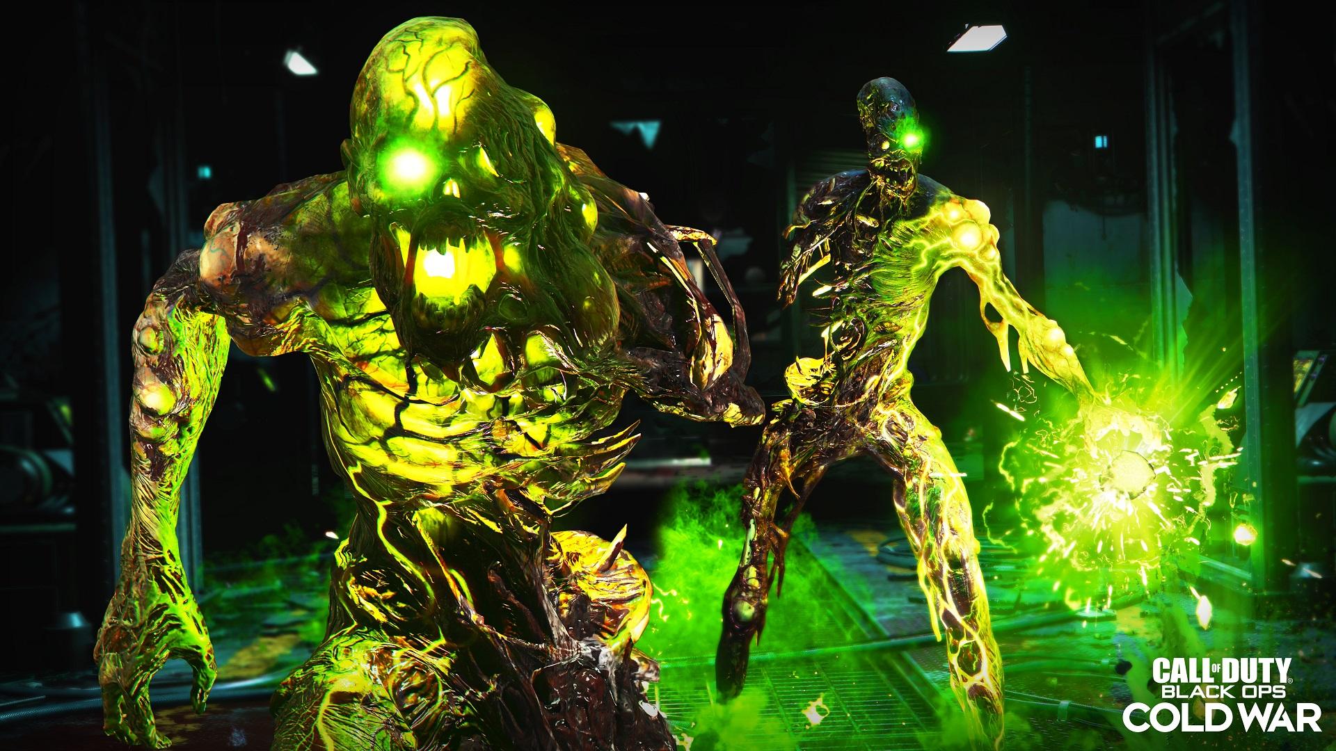 Call of Duty Black Ops Cold War présente son mode Zombie à la sauce années 80