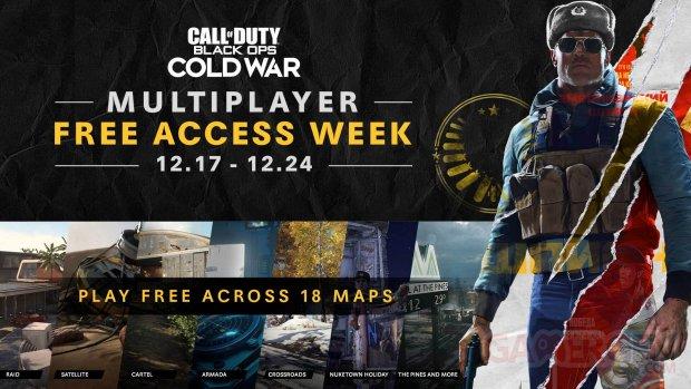 Call of Duty Black Ops Cold War Multijoueur accès gratuit