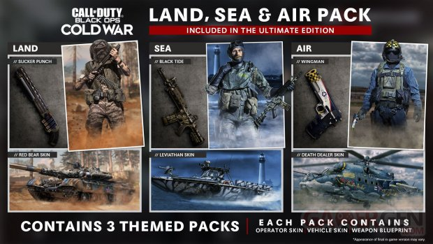 Call of Duty Black Ops Cold War packs Ultimate 26 08 2020