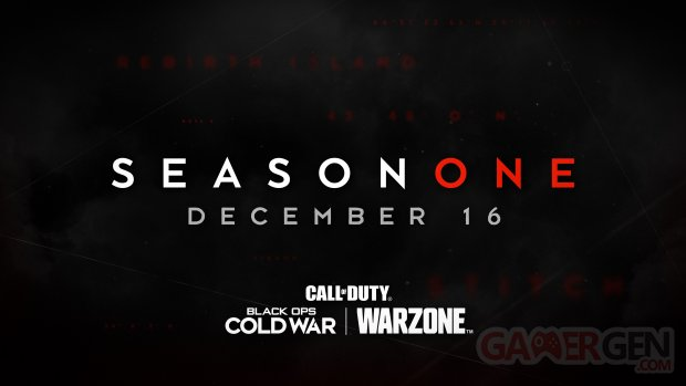 Call of Duty Black Ops Cold War Warzone Season One Saison 1 date