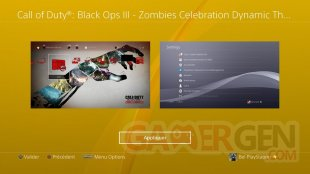 Call of Duty Black Ops III Zombies Chronicles theme dynamique celebration