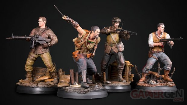 Call of Duty Black Ops Zombies figurine