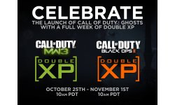 call of duty double XP
