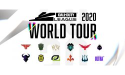 Call of Duty League World Tour 2020 head logo banner