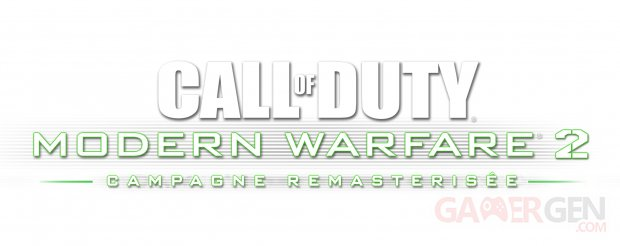 Call of Duty Modern Warfare 2 Campaign Remastered Campagne Remasterisée logo