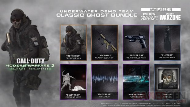 Call of Duty Modern Warfare 2 Campaign Remastered Classic Ghost Bundle 30 03 2020