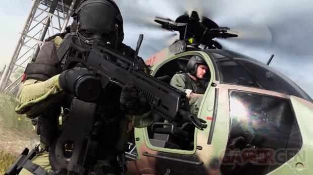 Call of Duty Modern Warfare head
