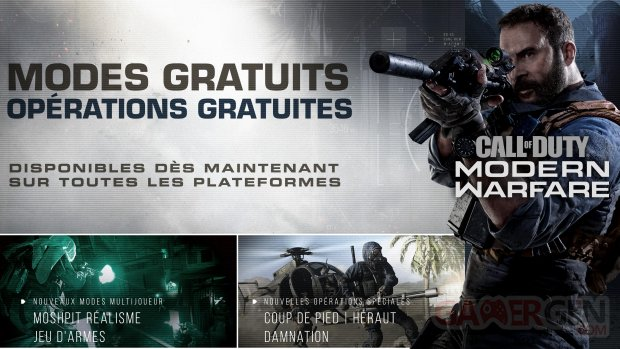 Call of Duty Modern Warfare MAJ 22 novembre